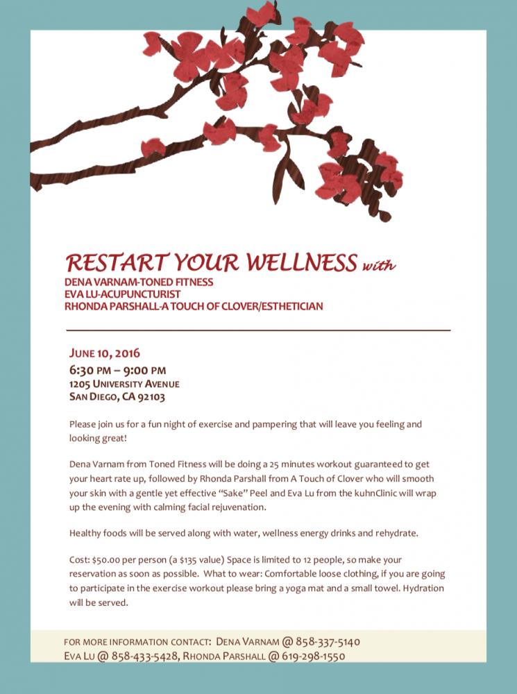 Restart Your Wellness