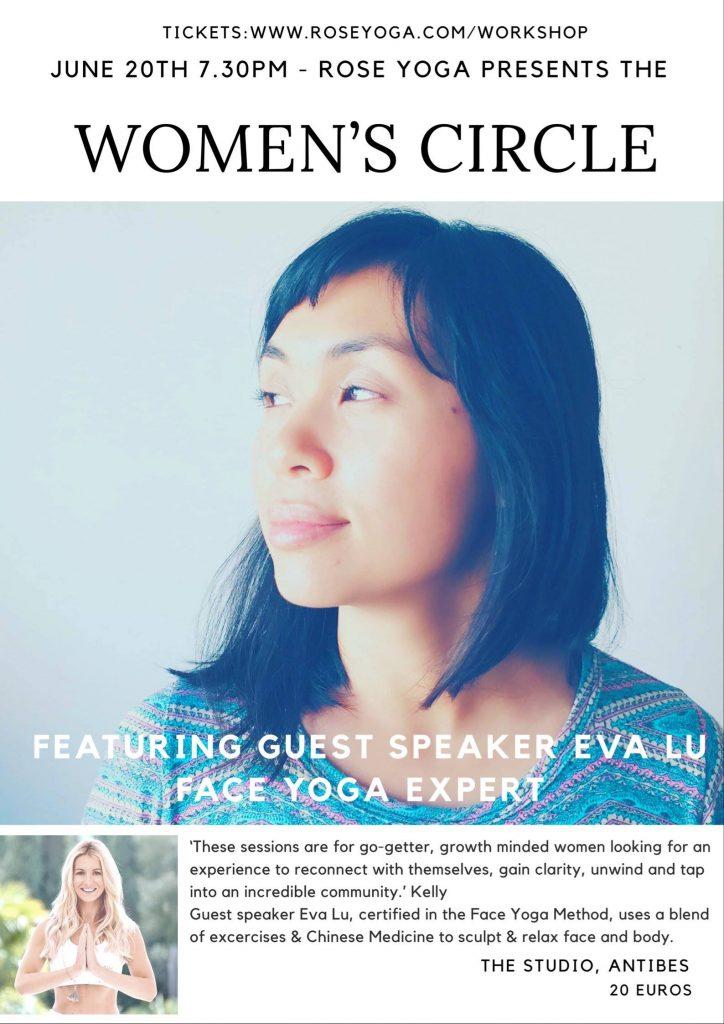 Face Yoga Antibes The Studio Crew Pilates Rose Yoga Women's Circle Self Care